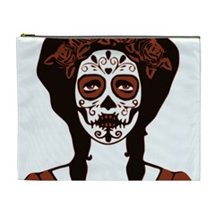 Day Of The Dead Cosmetic Bag (XL) by EndlessVintage