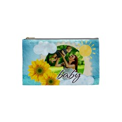 Summer By Summer Time    Cosmetic Bag (small)   Wnqdbb1bwspc   Www Artscow Com Front