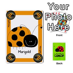 Queen Ladybug Lunch Deck 1   Shared By Jonathan Warren   Playing Cards 54 Designs   Qrvr11mzalgs   Www Artscow Com Front - HeartQ