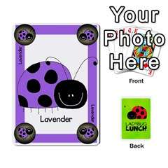 King Ladybug Lunch Deck 1   Shared By Jonathan Warren   Playing Cards 54 Designs   Qrvr11mzalgs   Www Artscow Com Front - HeartK