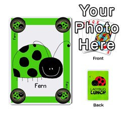 Ladybug Lunch Deck 1   Shared By Jonathan Warren   Playing Cards 54 Designs   Qrvr11mzalgs   Www Artscow Com Front - Club2