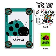 Ladybug Lunch Deck 1   Shared By Jonathan Warren   Playing Cards 54 Designs   Qrvr11mzalgs   Www Artscow Com Front - Club4
