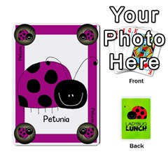 Ace Ladybug Lunch Deck 1   Shared By Jonathan Warren   Playing Cards 54 Designs   Qrvr11mzalgs   Www Artscow Com Front - ClubA