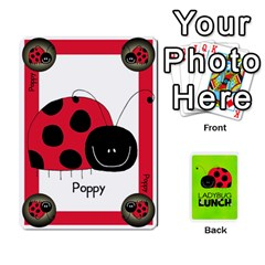 Ladybug Lunch Deck 1   Shared By Jonathan Warren   Playing Cards 54 Designs   Qrvr11mzalgs   Www Artscow Com Front - Spade8