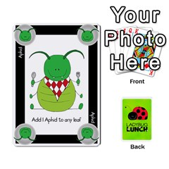 Ladybug Lunch Deck 2   Shared By Jonathan Warren   Playing Cards 54 Designs   O1c4z6dfieby   Www Artscow Com Front - Diamond2