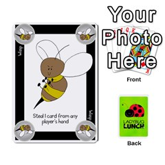 Ladybug Lunch Deck 2   Shared By Jonathan Warren   Playing Cards 54 Designs   O1c4z6dfieby   Www Artscow Com Front - Diamond9