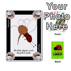 Ladybug Lunch Deck 2   Shared By Jonathan Warren   Playing Cards 54 Designs   O1c4z6dfieby   Www Artscow Com Front - Club5