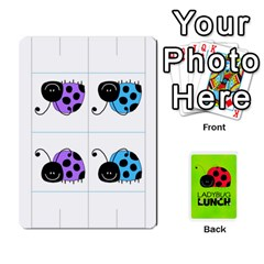 Ladybug Lunch Deck 2   Shared By Jonathan Warren   Playing Cards 54 Designs   O1c4z6dfieby   Www Artscow Com Front - Club10