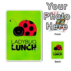 Ladybug Lunch Deck 2   Shared By Jonathan Warren   Playing Cards 54 Designs   O1c4z6dfieby   Www Artscow Com Back