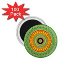 Mandala 1.75  Button Magnet (100 pack) Front