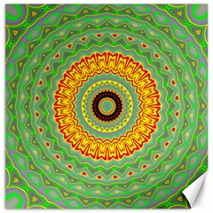 Mandala Canvas 16  X 16  (unframed) by Siebenhuehner