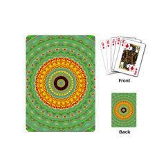 Mandala Playing Cards (mini) by Siebenhuehner