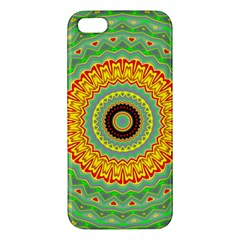 Mandala Apple Iphone 5 Premium Hardshell Case by Siebenhuehner