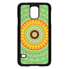 Mandala Samsung Galaxy S5 Case (black)