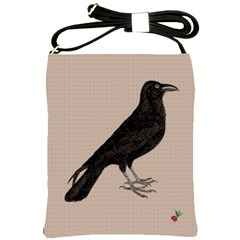 Raven Shoulder Sling Bag by CrackedRadish