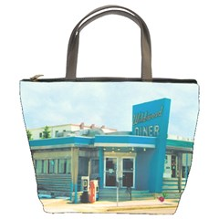 Wildwood Diner Bucket Handbag by CrackedRadish