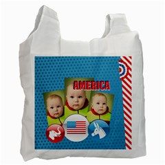 Usa By Usa   Recycle Bag (two Side)   R2f6w6dvtl5r   Www Artscow Com Front