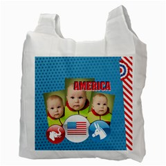 Usa By Usa   Recycle Bag (two Side)   R2f6w6dvtl5r   Www Artscow Com Back