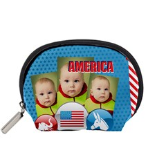 Usa By Usa   Accessory Pouch (small)   Cgpiygc8f4fb   Www Artscow Com Front