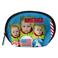 Usa By Usa   Accessory Pouch (medium)   290qbip6qh5a   Www Artscow Com Front