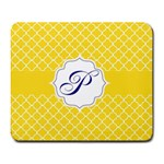 Mousepad_Quatrefoil - Monogram04 - Large Mousepad