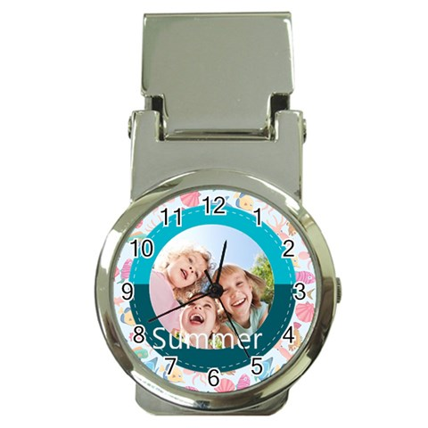 Summer By Summer Time    Money Clip Watch   7bhyyif7cyn8   Www Artscow Com Front