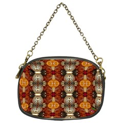 Jeweled Earth Chain Purse (one Side) by CrackedRadish