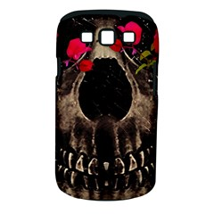 Death And Flowers Samsung Galaxy S Iii Classic Hardshell Case (pc+silicone) by dflcprints