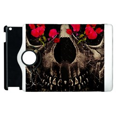 Death And Flowers Apple Ipad 3/4 Flip 360 Case by dflcprints