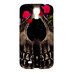 Death And Flowers Samsung Galaxy S4 I9500/i9505 Hardshell Case by dflcprints