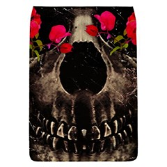 Death and Flowers Removable Flap Cover (Large)
