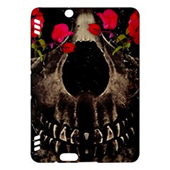 Death And Flowers Kindle Fire Hdx 7  Hardshell Case by dflcprints