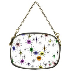 Mod Sparkle Chain Purse (two Sided)  by CrackedRadish