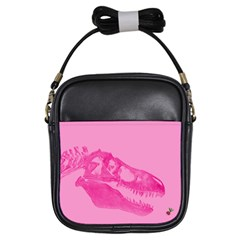 Pink Rex Rules Girl s Sling Bag by CrackedRadish