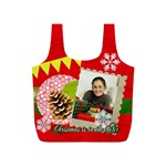 merry christmas gift - Full Print Recycle Bag (S)
