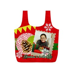 Merry Christmas Gift By Merry Christmas   Full Print Recycle Bag (s)   Uq043pxc5lyd   Www Artscow Com Back