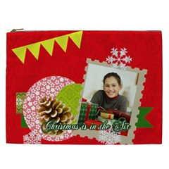 Merry Christmas Gift By Merry Christmas   Cosmetic Bag (xxl)   Pnlmdhwz95mh   Www Artscow Com Front