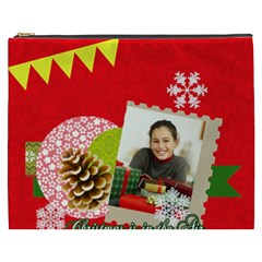 Merry Christmas Gift By Merry Christmas   Cosmetic Bag (xxxl)   I0kitzan2q2x   Www Artscow Com Front