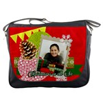 merry christmas gift - Messenger Bag