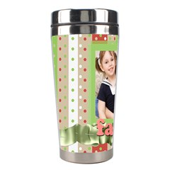 Christmas By Joely   Stainless Steel Travel Tumbler   Pbm7m2zm5ztd   Www Artscow Com Left