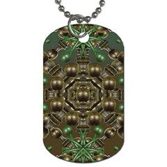 Japanese Garden Dog Tag (one Sided)