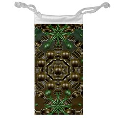Japanese Garden Jewelry Bag by dflcprints