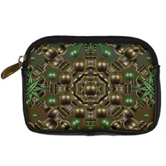 Japanese Garden Digital Camera Leather Case by dflcprints