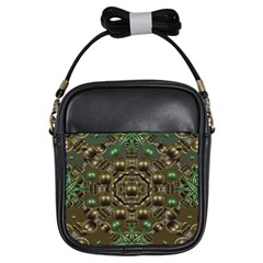 Japanese Garden Girl s Sling Bag by dflcprints