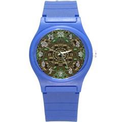 Japanese Garden Plastic Sport Watch (small) by dflcprints