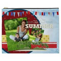 Summer By Summer Time    Cosmetic Bag (xxxl)   Qpd60jusphh5   Www Artscow Com Front