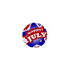 4th Of July Celebration Design 1  Mini Button