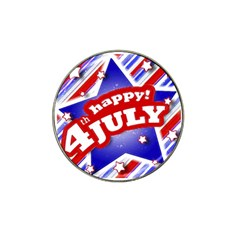 4th Of July Celebration Design Golf Ball Marker 10 Pack (for Hat Clip) by dflcprints