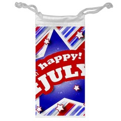 4th Of July Celebration Design Jewelry Bag by dflcprints