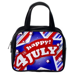 4th Of July Celebration Design Classic Handbag (one Side) by dflcprints